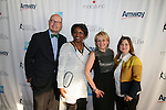 Harry Smith, Candace Matthews, Honoree Andrea Joyce and Sharon Cohen Attend The 2013 Skating with the Stars honoring B Michael and Andrea Joyce -A benefit gala for Figure Skating in Harlem Held At Trump Rink, Central Park, NY