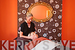Proprietor Gemma Knightley carring out one of her.many treatments she has on offer at her Beauty and.Holistic salon, Beautilicious, Ashe Street, Tralee