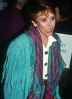 Judy Carne, 1991, Photo By John Barrett/PHOTOlink
