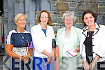 Sheila Goulding Killarney, Mary Carroll Abbeydourney, Joan Kelly Tralee and Niamh Carew Galbally, Limerick enjoying the Ordination of the Bishop of Kerry in St Mary's Cathedral on Sunday