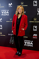 Nieves Herrero attends to 'Como la Vida Misma' film premiere during the 'Madrid Premiere Week' at Callao City Lights cinema in Madrid, Spain. November 12, 2018. (ALTERPHOTOS/A. Perez Meca) /NortePhoto.com