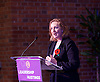 UKIP <br /> Leadership hustings <br /> at the Emanuel Centre, London, Great Britain <br /> 1st November 2016 <br /> <br /> the first leadership hustings before the election on 28th November 2016 <br /> <br /> Suzanne Evans <br /> <br /> <br /> <br /> Photograph by Elliott Franks <br /> Image licensed to Elliott Franks Photography Services