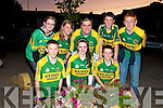 9891: Ballydonoghue Ceile band who entertained the crowd before the players arrived - F - Jason Foley, Moira O'Connell &Michael Foley, B - Aiofe Trench, Cliona Doyle, Kieran Flavin,Stephen Foley & Kevin O'Neill.