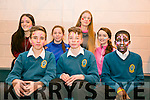 Mercy Mounthawk Culture Week as part of YSI project - Zumba dance classes in School gym on Monday pictured l-r  James O'Halloran, Sean Vieux and Samuel Abubaker. Back l-r  Denise Bother, Meagan Sheehy, Rihanna O'Connor and Shauna Conway
