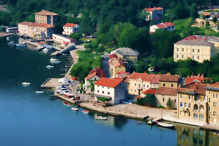 Harbor village.Croatia