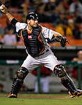 18 May 2007: Baltimore Orioles catcher Ramon Hernandez in action against the Washington Nationals at RFK Stadium in Washington, DC. The Orioles defeated the Nationals 5-4 in the first game of the 3-game interleague series...Mandatory Photo Credit: Ed Wolfstein Photo