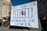 © Hughes Léglise-Bataille/Wostok Press.France, Lyon.28.10.2010.Plusieurs dizaines de milliers de personnes ont manifeste a Lyon le 28/10/2010 contre la reforme des retraites...Tens of thousands demonstrated in Lyon on october 28, 2010 against the pensions reform.