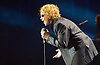 Simply Red <br /> performing at the O2 Arena, Greenwich, London, Great Britain <br /> 8th December 2010<br /> <br /> Mick Hucknall <br /> is a British singer and songwriter. He was the lead singer of the British band Simply Red