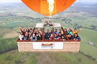 20151209 December 09 Hot Air Balloon Gold Coast
