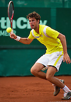 11-07-13, Netherlands, Scheveningen,  Mets, Tennis, Sport1 Open, day four, Robin Haase (NED)<br /> <br /> <br /> Photo: Henk Koster