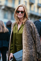 Jessica Diehl at Milan Fashion Week (Photo by Hunter Abrams/Guest of a Guest)