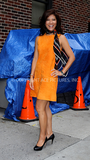 WWW.ACEPIXS.COM....September 5 2012, September 5 2012....Julie Chen made an appearance at The Late Show with David Letterman on September 5 2012 in New York City....By Line: Nancy Rivera/ACE Pictures......ACE Pictures, Inc...tel: 646 769 0430..Email: info@acepixs.com..www.acepixs.com