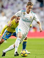 Real Madrid's Marcos Llorente during La Liga match. November 5,2017. (ALTERPHOTOS/Acero)
