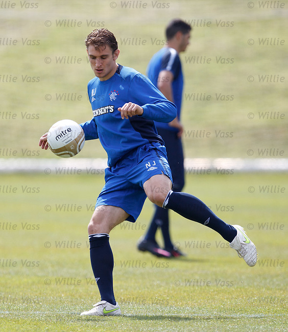 Nikica Jelavic on the ball