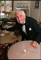 BNPS.co.uk (01202 558833)<br /> Pic: HattieMiles/BNPS<br /> <br /> Paul Barrett - Mantovani fan.<br /> <br /> A retired businessman has spent £26,000 laying on his very own a show in tribute to his hero - the musical maestro Annunzio Paolo Mantovani.<br /> <br /> Paul Barrett, 72, will perform in a 48-piece orchestra he has hired for the performance that he is prepared to make a loss of thousands of pounds on.<br /> <br /> Mr Barrett said he plans to do 'everything bar conducting' in the musical extravaganza being hosted at the Bournemouth Pavilion Theatre in Dorset.
