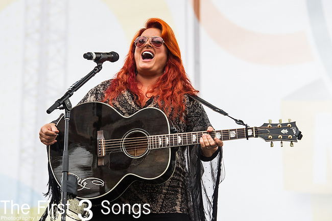 Wynonna Judd performs on Day One of the 2014 CMA Music Festival in Nashville, Tennessee.