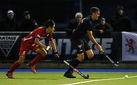 Cory Bennett. International Hockey, Blacksticks Men v Japan, TET Multisport Centre, Stratford, New Zealand. Thursday 10 October 2019. Photo: Simon Watts/www.bwmedia.co.nz/HockeyNZ