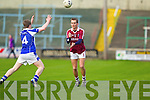 Colm O'Connor Dromid Pearses v Caolan Corr Derrytresk in the AIB All Ireland Junior Club Championship Semi Final at Portlaoise on Sunday