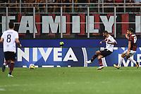 gol Joao Pedro goal <br /> Milano 27-08-2017 Stadio Giuseppe Meazza in San Siro Calcio Serie A<br /> 2017/2018 Milan - Cagliari Foto Imagesport/Insidefoto