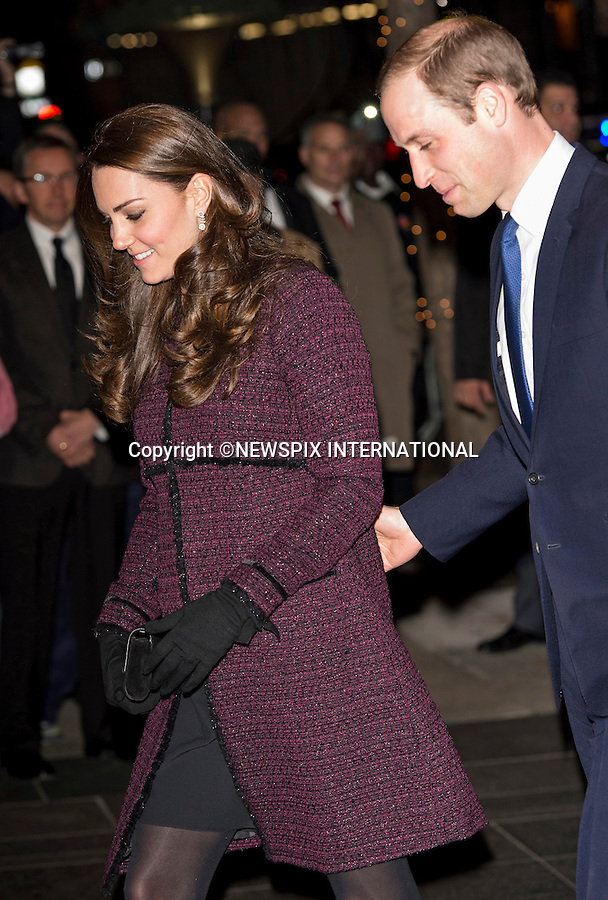 07.12.2014 (No UK Usage For 28 Days); New York, USA: KATE MIDDLETON AND PRINCE WILLIAM<br /> arrive at the Carlyle Hotel at the start of their 3-day visit to New York City.<br /> Mandatory Photo Credit: &copy;NEWSPIX INTERNATIONAL<br /> <br /> **ALL FEES PAYABLE TO: &quot;NEWSPIX INTERNATIONAL&quot;**<br /> <br /> PHOTO CREDIT MANDATORY!!: NEWSPIX INTERNATIONAL(Failure to credit will incur a surcharge of 100% of reproduction fees)<br /> <br /> IMMEDIATE CONFIRMATION OF USAGE REQUIRED:<br /> Newspix International, 31 Chinnery Hill, Bishop's Stortford, ENGLAND CM23 3PS<br /> Tel:+441279 324672  ; Fax: +441279656877<br /> Mobile:  0777568 1153<br /> e-mail: info@newspixinternational.co.uk