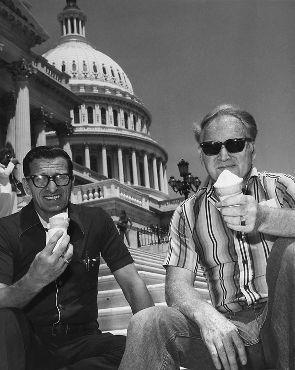 Ice cream for lunch Capitol carpenters wash down some saw dust with daily ritual of ice cream. (Photo by Mickey Senko/CQ Roll Call via Getty Images)