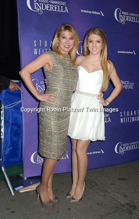 Ramona Singer and Avery Singer attend Rogers +  Hammerstein's Cinderella Broadway Opening night on March 3, 2013 at the Broadway Theatre in New York City.