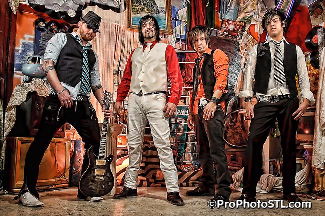 Dollhouse Skandal band promo shots