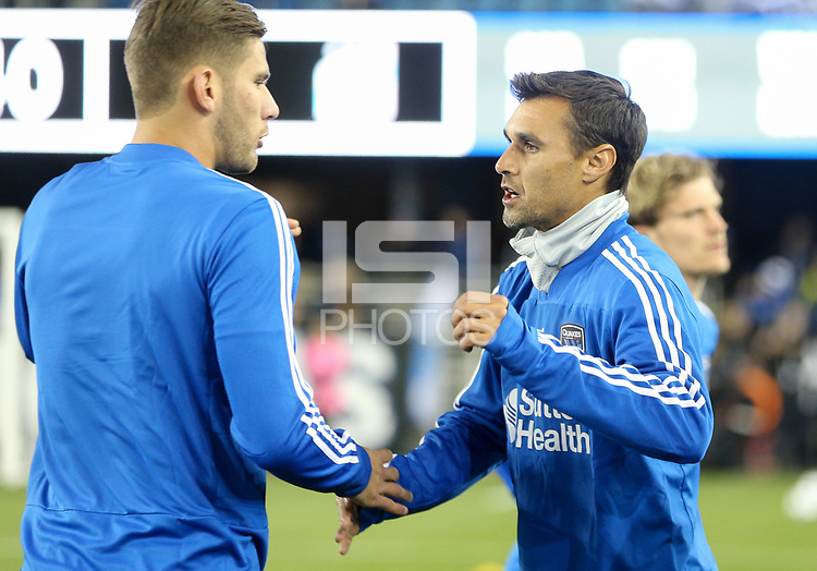 San Jose, CA - Saturday March 03, 2018: Chris Wondolowski during a 2018 Major League Soccer (MLS) match between the San Jose Earthquakes and Minnesota United FC at Avaya Stadium.