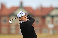 Amy Yang (KOR) on the 2nd fairway during Round 3 of the Ricoh Women's British Open at Royal Lytham &amp; St. Annes on Saturday 4th August 2018.<br /> Picture:  Thos Caffrey / Golffile<br /> <br /> All photo usage must carry mandatory copyright credit (&copy; Golffile | Thos Caffrey)