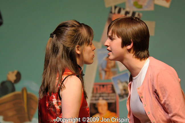 "Smith Theatre ""One Act Plays""..© 2009 JON CRISPIN .Please Credit   Jon Crispin.Jon Crispin   PO Box 958   Amherst, MA 01004.413 256 6453.ALL RIGHTS RESERVED."