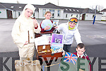 Knockaderry National School, Farranfore, Students Elaine O' Donoghue, Ruth Daly, Conor Henderson and Luke Ring were the first to see the Tom Crean History Box from the Kerry County Museum, The box contains artifacts Tom Crean might have used on his Arctic exploration, including a Tom Crean Costume. It will be on display at the Knockaderry NS open Evening on Friday April 4th 6.30pm - 7.30pm