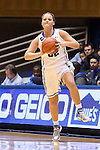 02 January 2014: Duke's Tricia Liston. The Duke University Blue Devils played the Old Dominion University Lady Monarchs in an NCAA Division I women's basketball game at Cameron Indoor Stadium in Durham, North Carolina. Duke won the game 87-63.