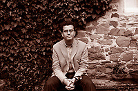 Santa Maddalena Foundation, Florence, Italy, 2007. Hisham Matar, Libyan writer born In New York. Author of 'In the Country of men', shortlisted for the 2006 Man Booker Prize. His books are published in Italy by Einaudi.