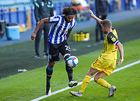 Sheffield Wednesday's Isaiah Brown battles with Watford's Tom Cleverley<br /> <br /> Photographer Alex Dodd/CameraSport<br /> <br /> The EFL Sky Bet Championship - Sheffield Wednesday v Watford - Saturday 19th September 2020 - Hillsborough Stadium - Sheffield <br /> <br /> World Copyright © 2020 CameraSport. All rights reserved. 43 Linden Ave. Countesthorpe. Leicester. England. LE8 5PG - Tel: +44 (0) 116 277 4147 - admin@camerasport.com - www.camerasport.com
