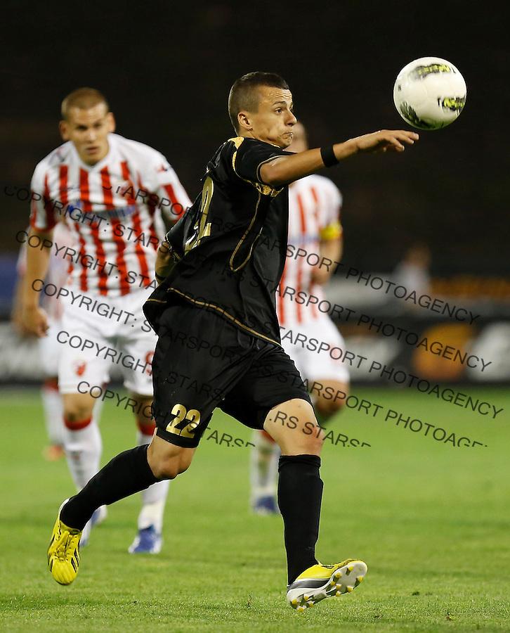 Fudbal Super liga season 2012-2013.Crvena Zvezda v Donji Srem.Borislav Terzic.Beograd, 04.27.2013..foto: Srdjan Stevanovic/Starsportphoto ©