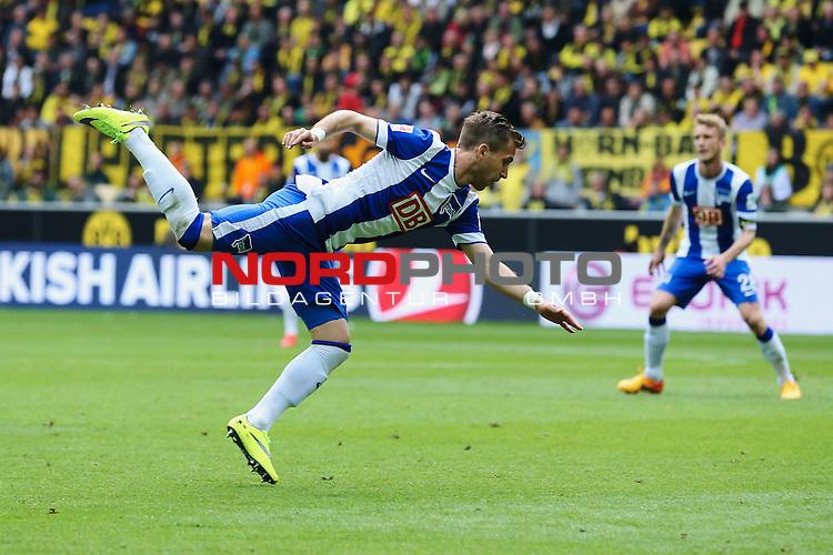 09.05.2015, Signal Iduna Park, Dortmund, GER, im Bild) Sebastian Langkamp ( Hertha BSC Berlin #15)<br /> <br /> Foto &copy; nordphoto / Rauch