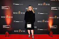 Picture by Simon Wilkinson/SWpix.com 01/122019 -  Rose d'Or 2019 Award Ceremony, red carpet arrivals and winners. Kings Place, London<br /> - Nicola Coughlan, best known for her role as Clare Devlin in Derry Girls, on the red carpet.