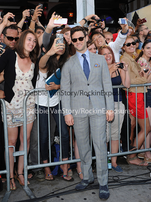 Justin Bartha at The Warner Bros. Pictures' L.A Premiere of  THE HANGOVER: PART III held at The Westwood Village Theater  in Westwood, California on May 20,2013                                                                   Copyright 2013 © Hollywood Press Agency