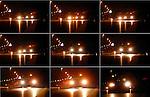 LEERDAM - Bij Leerdam op de snelweg A15 zijn deze week in het holst van de nacht in opdracht van Rijkswaterstaat remproeven gehouden op bijzonder nieuw Zoab. Het nieuwe asfalt is in het kader van het Innovatieprogramma Geluid (IPG) van RWS/DWW ontwikkeld in samenwerking met de TUDelf door de Combinatie De Acht en moet de zgn aanvangsstroefheid verbeteren. Hierdoor wordt voorkomen dat - zoals nu - het rijden op nieuws Zoab de eerste tijd voorzichtig moet gebeuren vanwege gladheid van het nog niet stroeve wegdek. Bij de nachtelijke remproeven reed een personenwagen diverse malen met een maximum snelheid van 80 km/uur over het nieuwe asfalt om vervolgens vol in de remmen te gaan. De effecten op het asfalt werden later opgemeten en gefotografeerd met infrarood. COPYRIGHT TON BORSBOOM