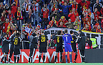 10.10.2015 Andorra. UEFA Europaen Championship Qualifying Round. Picture show national team in action during match Andorra v Belgium