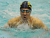 Michael Chang of St. Anthony's competes in the 100 yard breaststroke race during Day 1 of the NYSPHSAA varsity boys swimming Federation Championships at Nassau Aquatic Center in East Meadow on Friday, March 2, 2018.