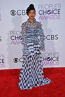 Yara Shahidi at the 2017 People's Choice Awards at The Microsoft Theatre, L.A. Live, Los Angeles, USA 18th January  2017<br /> Picture: Paul Smith/Featureflash/SilverHub 0208 004 5359 sales@silverhubmedia.com