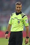 The referee Davide Massa during the Serie A match at Giuseppe Meazza, Milan. Picture date: 6th January 2020. Picture credit should read: Jonathan Moscrop/Sportimage