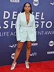 Melina Matsoukas 096 attends the American Film Institute's 47th Life Achievement Award Gala Tribute To Denzel Washington at Dolby Theatre on June 6, 2019 in Hollywood, California