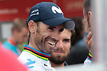World Champion Alejandro Valverde (ESP) Movistar Team wins Stage 7 of La Vuelta 2019 running 183.2km from Onda to Mas de la Costa, Spain. 30th August 2019.<br /> Picture: Colin Flockton | Cyclefile<br /> <br /> All photos usage must carry mandatory copyright credit (© Cyclefile | Colin Flockton)