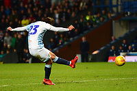 Blackburn Rovers' Bradley Dack scores his side's second goal <br /> <br /> Photographer Richard Martin-Roberts/CameraSport<br /> <br /> The EFL Sky Bet Championship - Blackburn Rovers v West Bromwich Albion - Tuesday 1st January 2019 - Ewood Park - Blackburn<br /> <br /> World Copyright &not;&copy; 2019 CameraSport. All rights reserved. 43 Linden Ave. Countesthorpe. Leicester. England. LE8 5PG - Tel: +44 (0) 116 277 4147 - admin@camerasport.com - www.camerasport.com