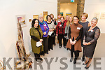 Front l-r Jane Deasy, Lisa Fingleton, Geraldine Kissane, Back l-r CEO of Siamsa Tíre, Catriona Fallon, Catherine Pearson, Tima O'Shea, Jacinta Scully Usher, Nora Diggin, Breda Flynn, Christa Vonhof, Sandra Kearne at the opening of the Tralee Art Group annual Exhibition 'Time and Place in Siamsa Tire and Continues until Friday 3rd of February 2017