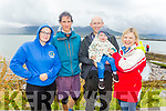 Enjoying the Fenit Regatta on Sunday. <br /> L to r: Isobel Van de Benter, Anton Wauters, Jeffrey, Sean and Ethel Meynet.