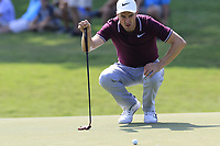 Ross Fisher (ENG) on the 15th green during Friday's Round 2 of the 2017 PGA Championship held at Quail Hollow Golf Club, Charlotte, North Carolina, USA. 11th August 2017.<br /> Picture: Eoin Clarke | Golffile<br /> <br /> <br /> All photos usage must carry mandatory copyright credit (&copy; Golffile | Eoin Clarke)