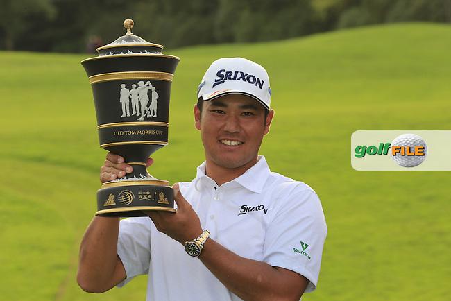 Hideki Matsuyama (JPN) winner of the WGC-HSBC Champions, Sheshan International GC, Shanghai, China PR.  30/10/2016<br /> Picture: Golffile | Fran Caffrey<br /> <br /> <br /> All photo usage must carry mandatory copyright credit (&copy; Golffile | Fran Caffrey)